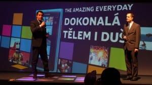 Z představení Nokií Lumia 710 a 800