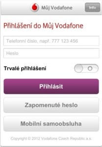 Můj Vodafone 1