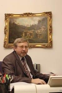 Pavel Dvořák, předseda Rady ČTÚ
