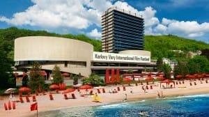 Pláž Vodafone MFF Karlovy Vary