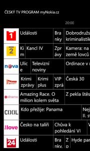 Český TV Program 6