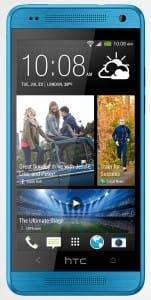 HTC One mini Vivid Blue 6V
