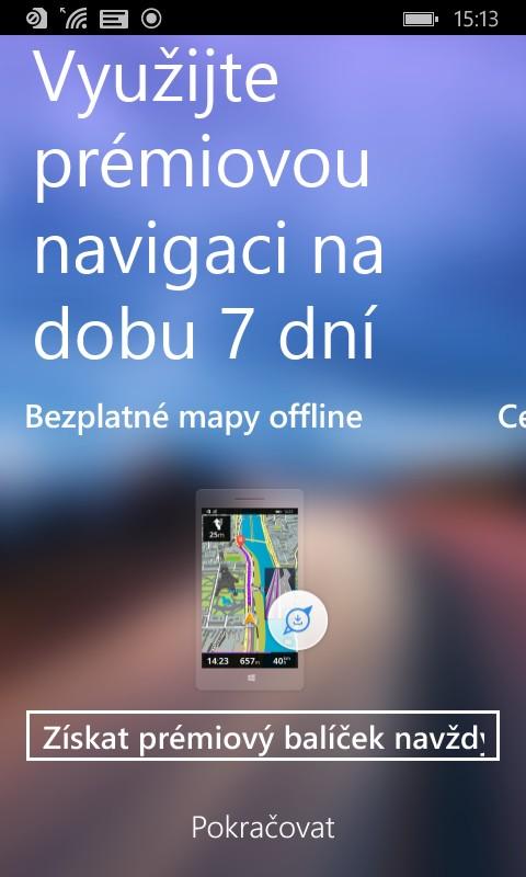 Aplikace Sygic pro Windows Phone | Mobinfo cz