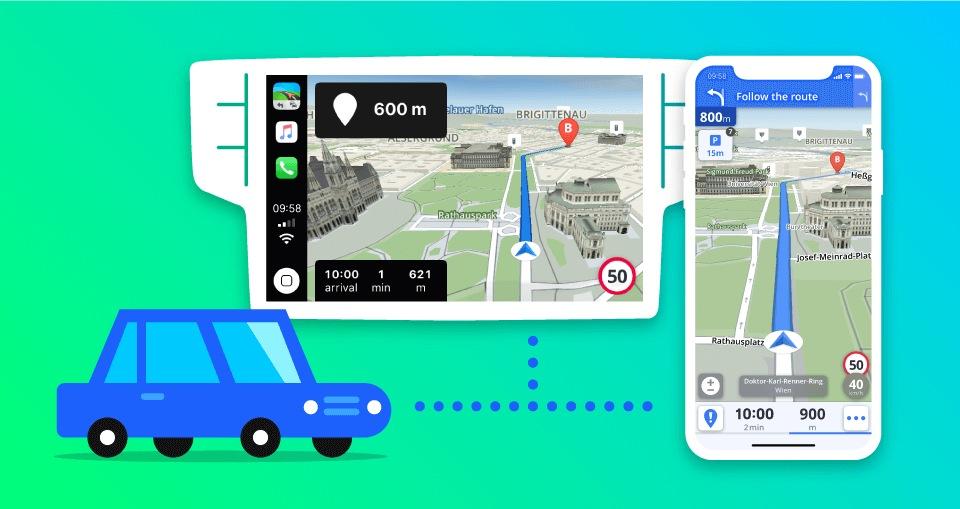 Sygic nově podporuje Apple CarPlay pro vaše auto | Mobinfo cz