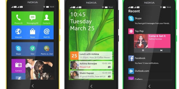 MWC 2014: Nokia má modely X s Androidem